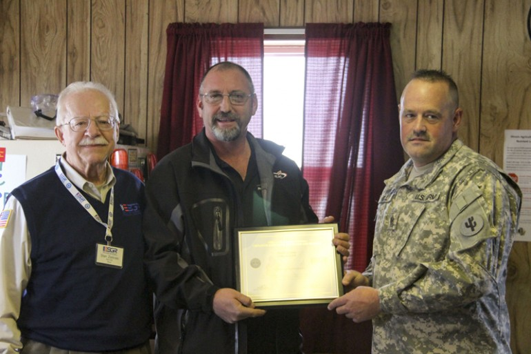 Prairieland FS, Inc. Employee Receives Patriot Award from the Illinois ESGR