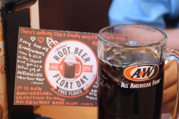 A note for all our readers: Saturday, August 6 is National Root Beer Float Day … just saying