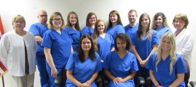 LLCC-Jacksonville CNA graduates