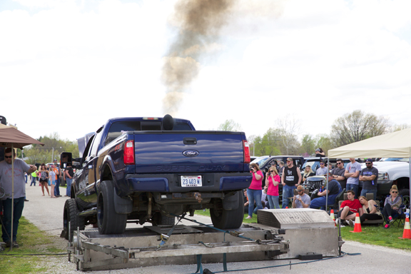 Inaugural Central Illinois Truck Show at the Morgan County Fairgrounds Sunday 17 April 2016