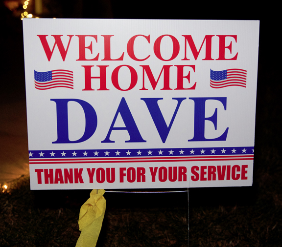 Welcome Back Staff Sgt. Dave Owens