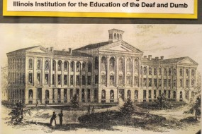 A historical view of Illinois School for the Deaf