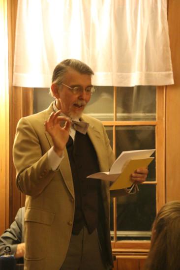 Poet presents poems, plus prose