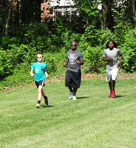 YMCA CAMPERS PLEDGE AND RUN