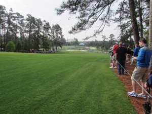 Photo/Special to The Source Newspaper A shot taken from the fairway of Hole 2 at Augusta National Golf Club.