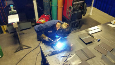 Welding a career through obstacles