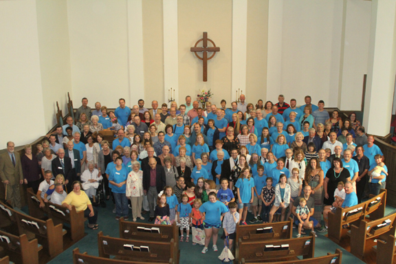 First Presbyterian Church 150th anniversary