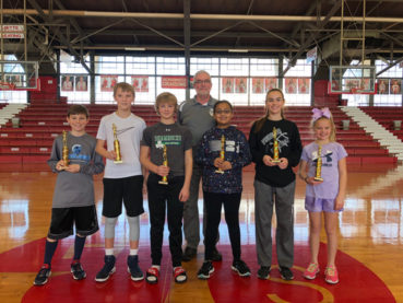2018 Elks Local Hoop Shoot Winners