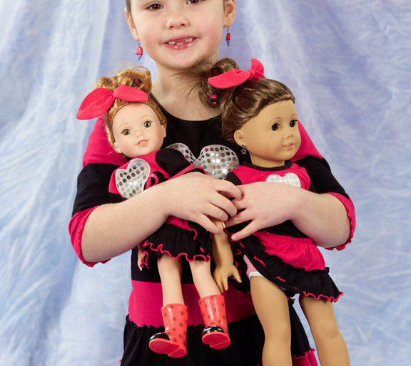 2018 Doll-i-Day fundraiser for Midwest Youth Services Sunday 25 February 2018 at Hamilton