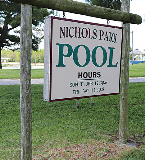 Photos/Lynn Colburn The Bob Freesen YMCA will be offering swimming programs at the the City of Jacksonville's Nichols Park pool this summer.