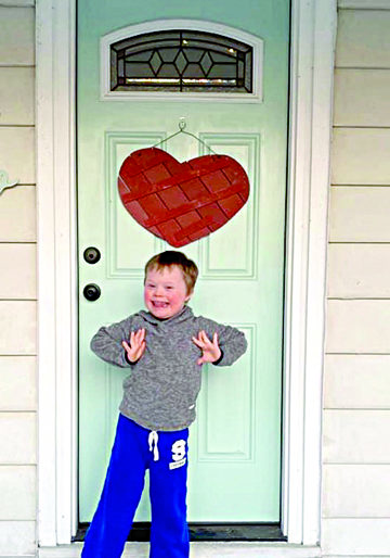 Hylan DeGroot, the son of Tacy Mayner and Jared DeGroot, shares his heart.