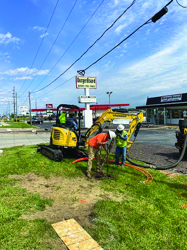 CASSCOMM connecting more High Speed opportunity to West Morton Ave.