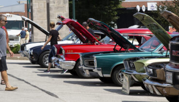 Attendees enjoy car show and cruise