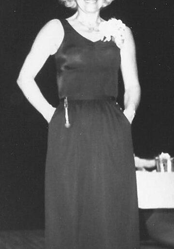 Eleanor Stevens in earlier years.