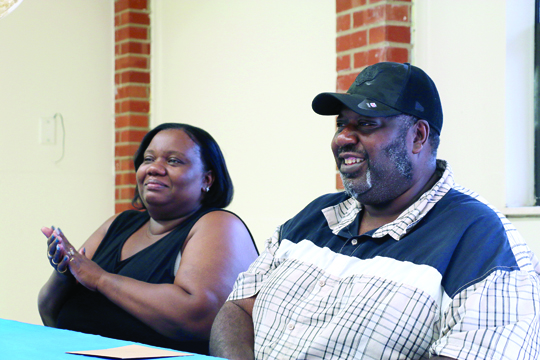 Tenants honored at MCHA: Walter and Manie Sanders awarded for good deeds