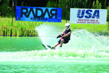 Zoellner family water skis through generations