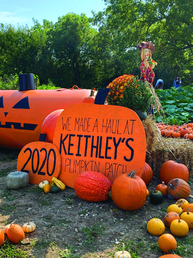 The Keithley family has worked to make the pumpkin patch and farm something for the entire area to visit and enjoy.