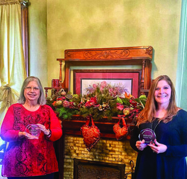 Travel Awards Presented to Blessings on State Bed & Breakfast and the Jacksonville Area Convention & Visitors Bureau