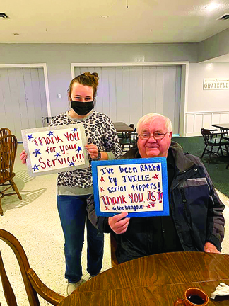 Random Act of Kindness movement thanks local veterans at The Hangout