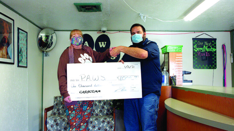 CASSCOMM Helps Protect the Paws at P.A.W.S