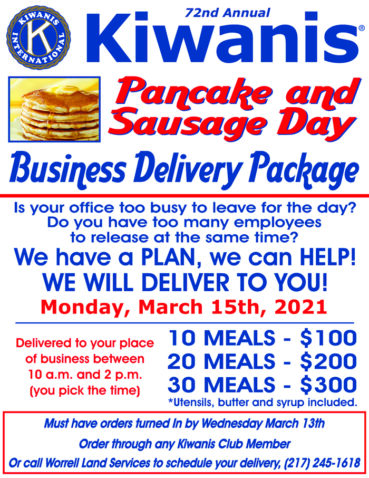 Pancake and Sausage Day Shifts to Drive-Through to Continue Helping Kids