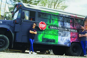 Leo's Pizza on wheels
