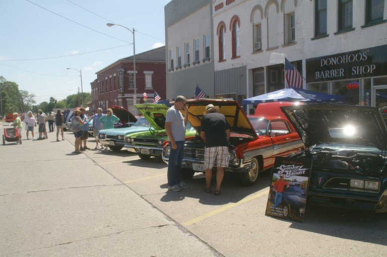 The car show on the Square was a big success; with around 146 cars participating, there was a variety of antique, classic and other interesting vehicles.