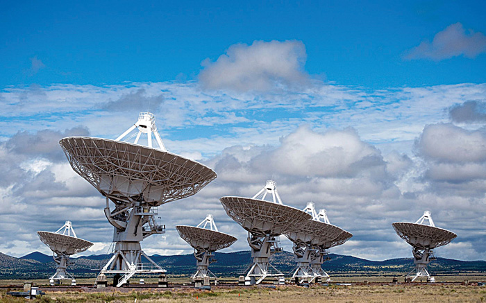 The Karl J. Lansky Very Large Array that was used to do research.