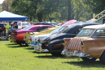 Hot rods on a hot day
