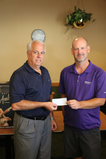 AMBUCS gives check to Pathway