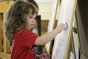 Art and sensory to engage learning