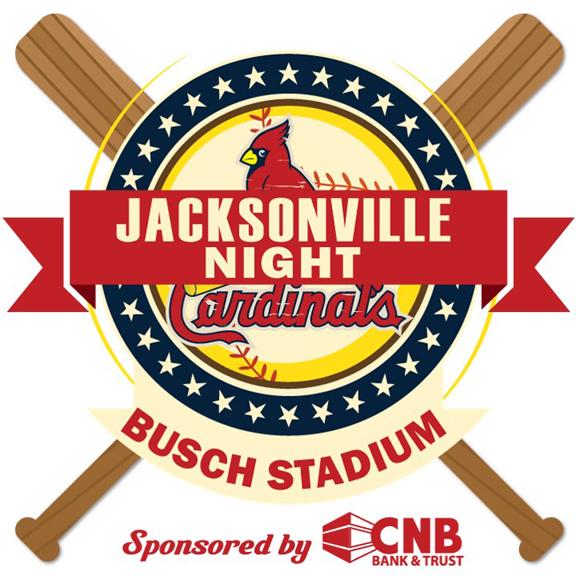 CNB Bank & Trust Jacksonville Night