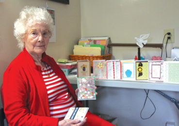 Hand-stamped by JEAN: crafting cards to benefit others