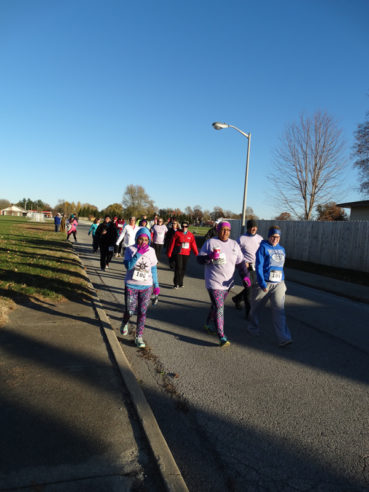 A three-mile walk/run for awareness and support