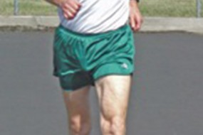 James Veenstra and race walking