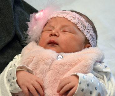 Emma Marie DuBois is first newborn of 2017