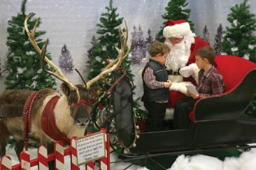 Santa comes to Riggston