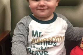Thank you from Asher Brockhouse and family
