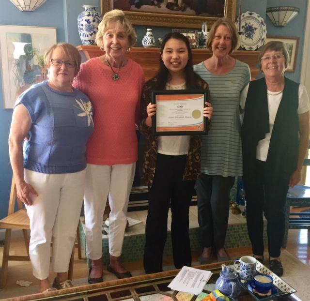 Liana Hamm wins P.E.O. STAR Scholarship