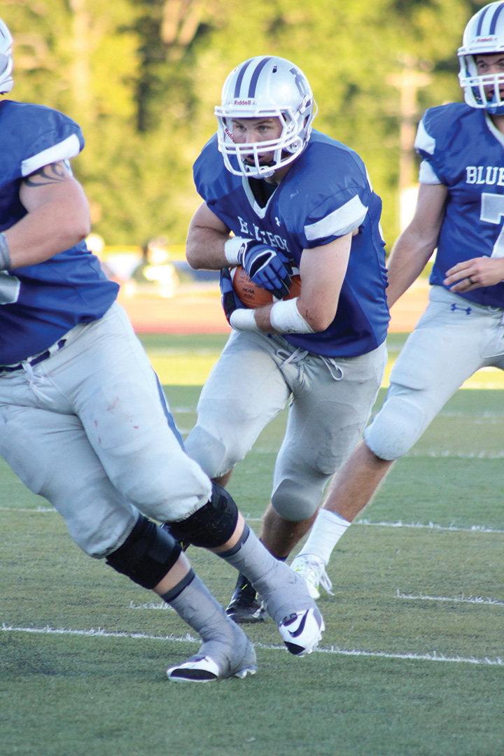 Blueboys fall short in historic football game