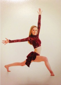 Photos/Special to The Source Newspaper Tori Covell has been a dancer for the past 14 years. She began dancing competitively 5 years ago. This past February, she received a platinum award in the highest dance level, and first place in her age group for a solo performance at the Revolution Dance Competition .
