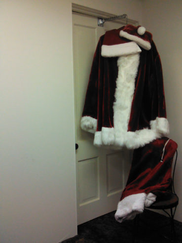 Getting Ready for Santa Claus to Come to Town