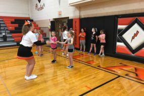Mini-Cheer Clinic