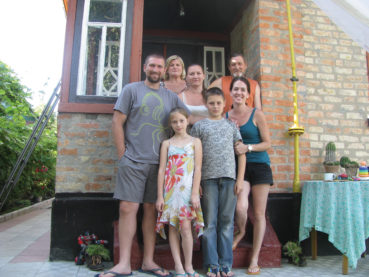 Living in the Ukraine