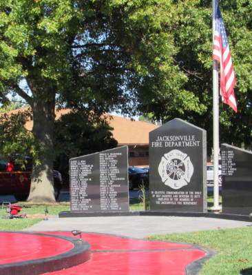 Jacksonville Fire Department Memorial Ceremony