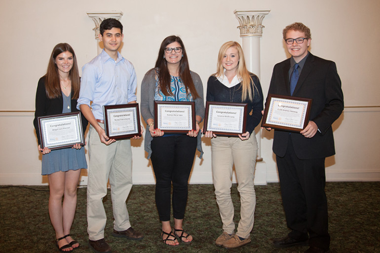 Jacksonville Rotary Club Awards Scholarships