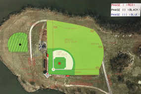 Baseball field renovation
