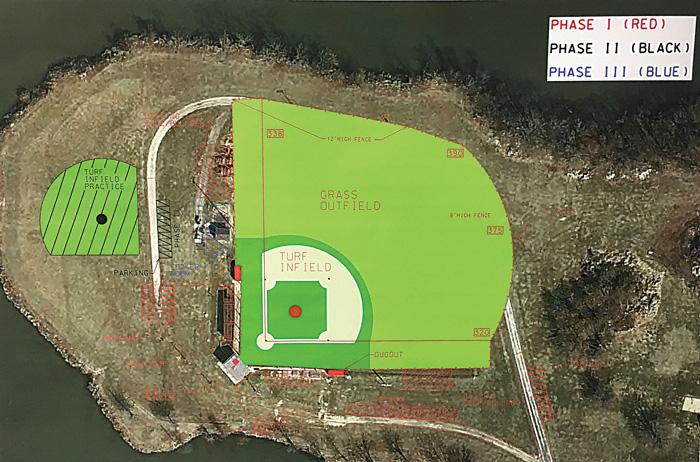 Baseball field renovation