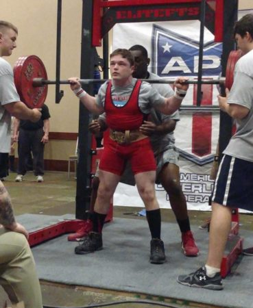 McNulty finds success in young powerlifting career