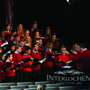 Heitbrink performs at the Interlochen Center for the arts